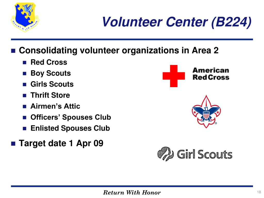 Volunteer Center (B224)