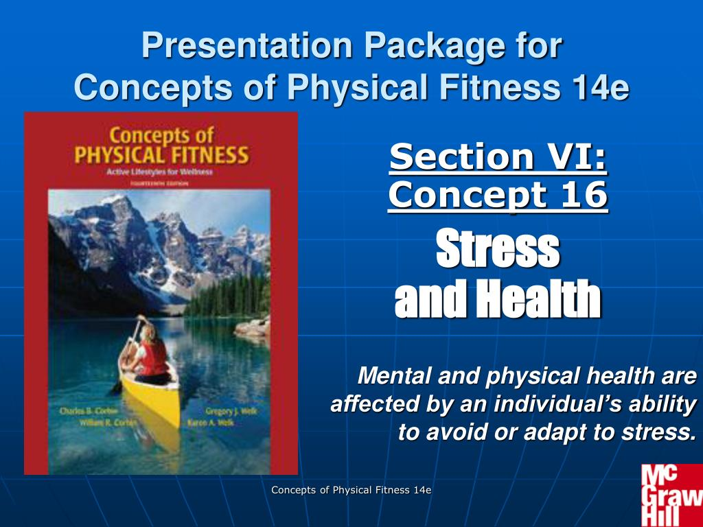 section vi concept 16 stress and health l.