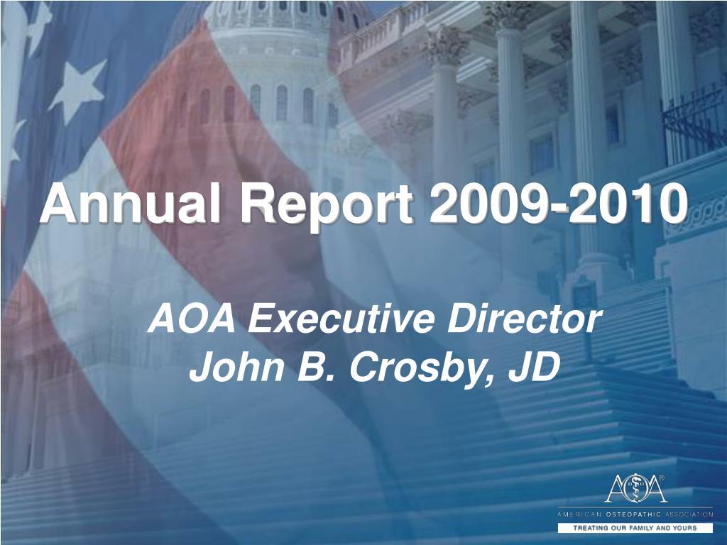 annual report 2009 2010 l.