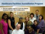 healthcare facilities accreditation program