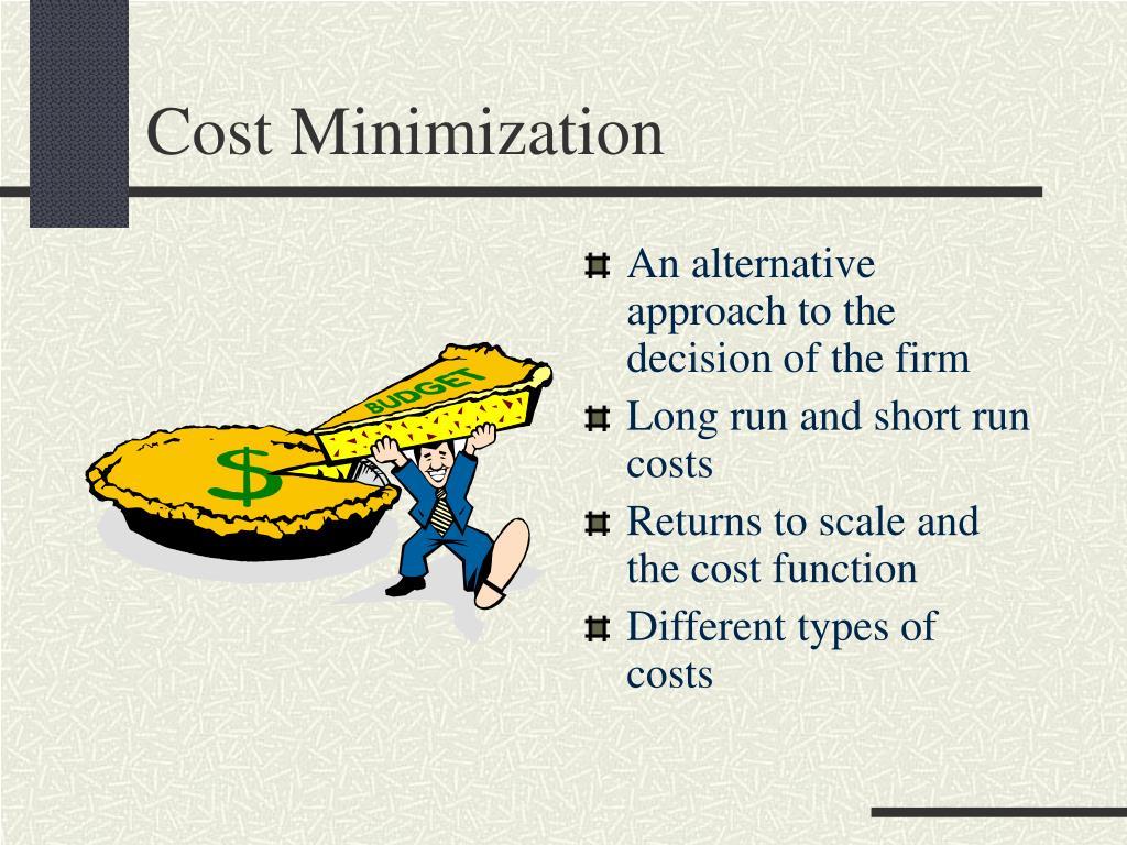 types of long run cost