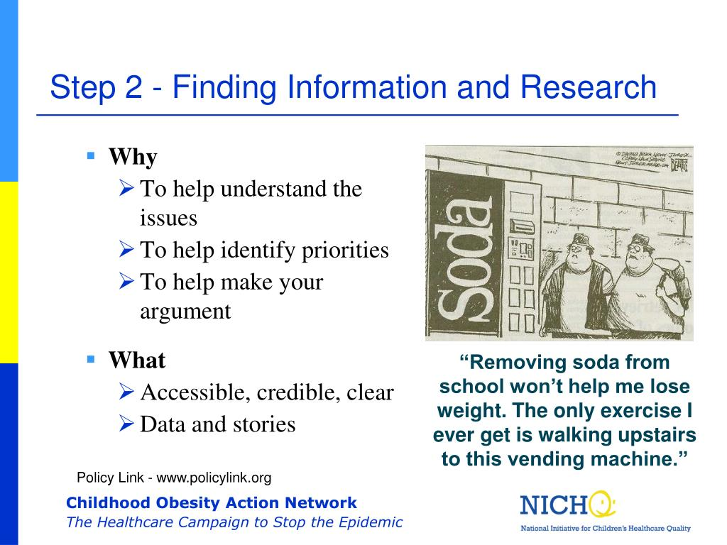 Step 2 - Finding Information and Research