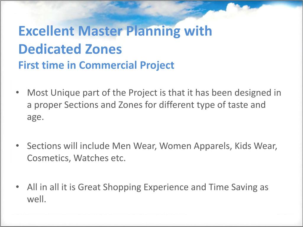 Excellent Master Planning with