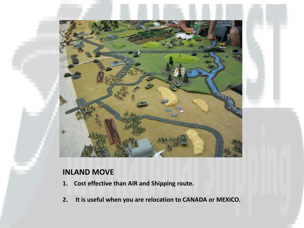 INLAND MOVE