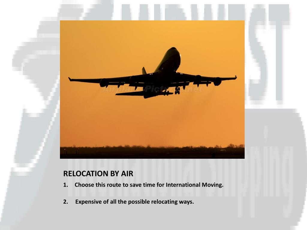 RELOCATION BY AIR