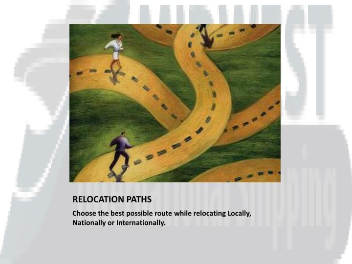 relocation paths n.