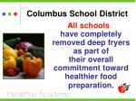 columbus school district