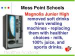moss point schools
