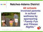 natchez adams district