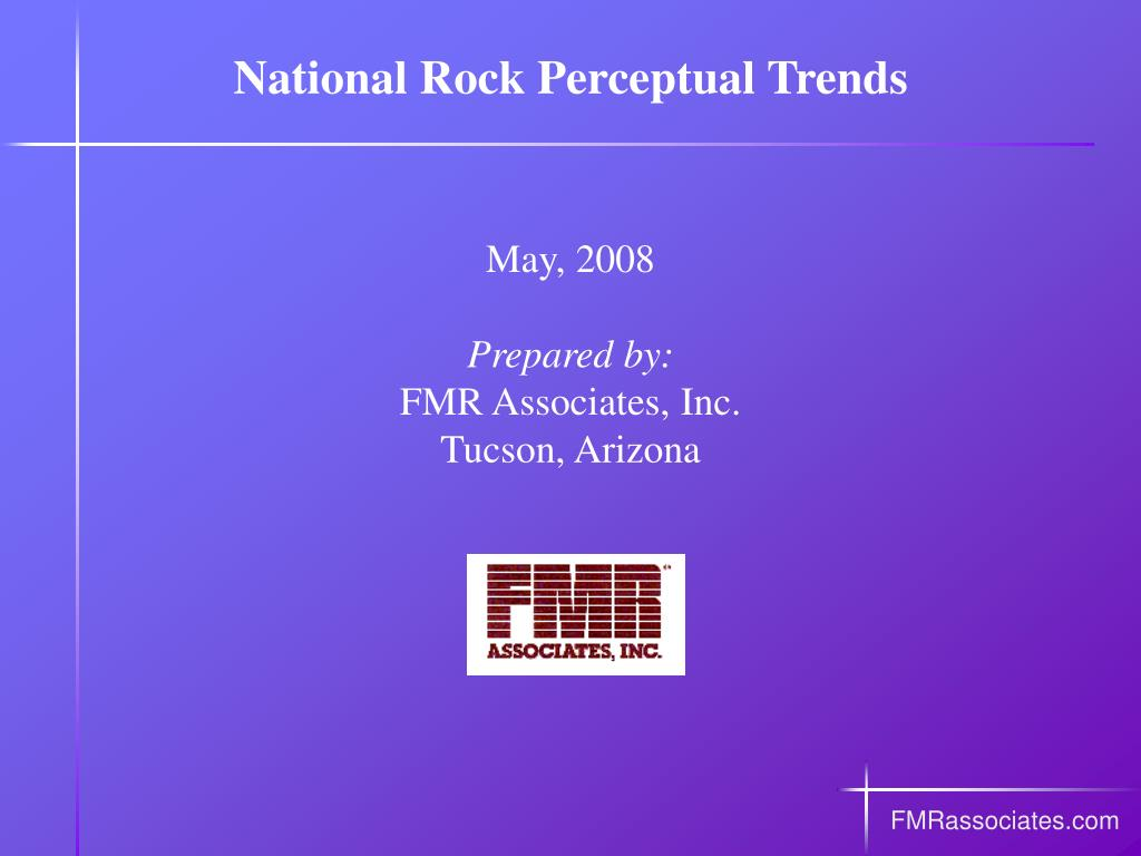 national rock perceptual trends l.
