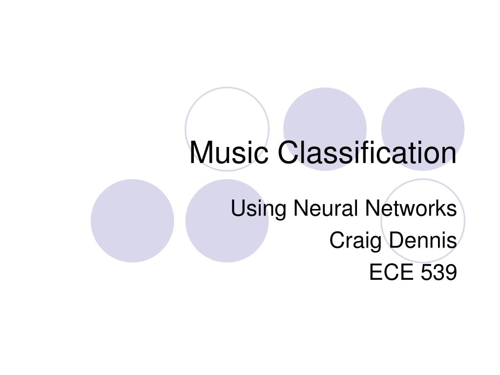 music classification l.
