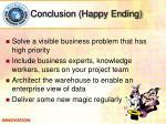conclusion happy ending