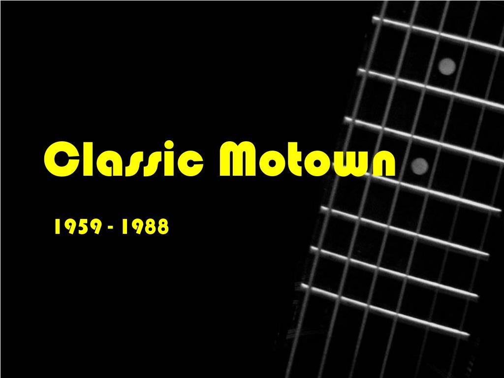 classic motown l.