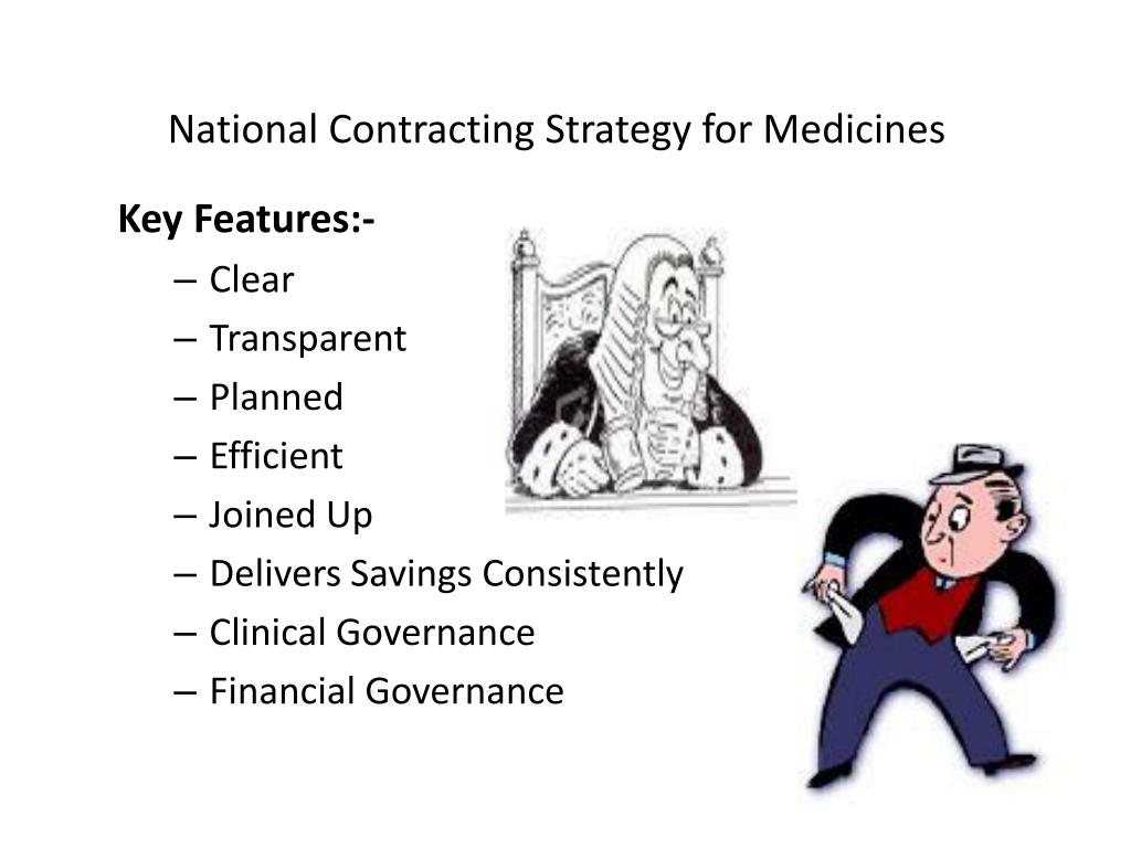 National Contracting Strategy for Medicines
