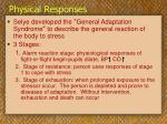 physical responses13