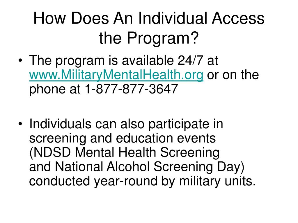 How Does An Individual Access