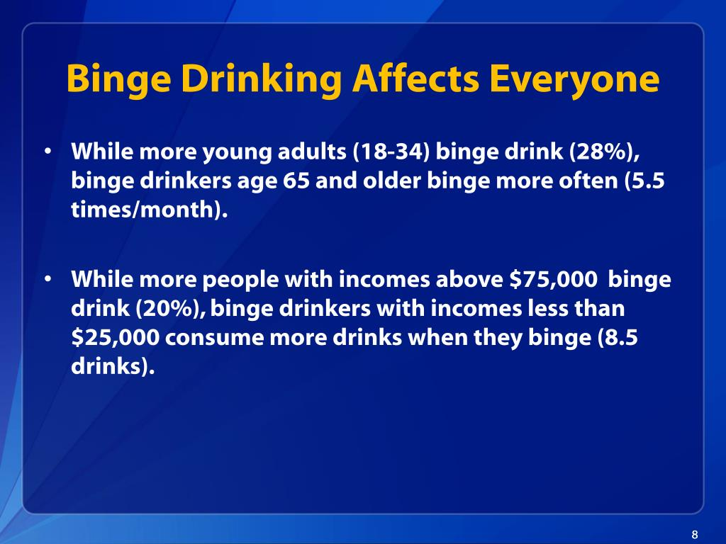 Binge Drinking Affects Everyone