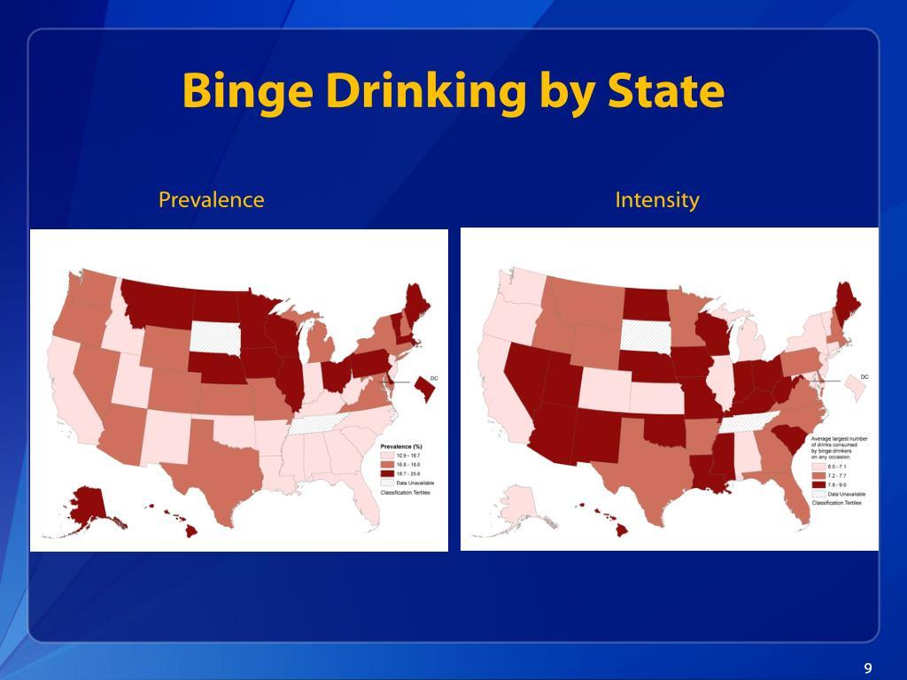 Binge Drinking by State