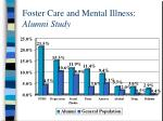foster care and mental illness alumni study