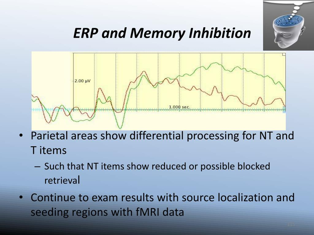 ERP and Memory Inhibition