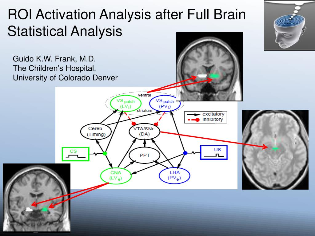 ROI Activation Analysis after Full Brain Statistical Analysis