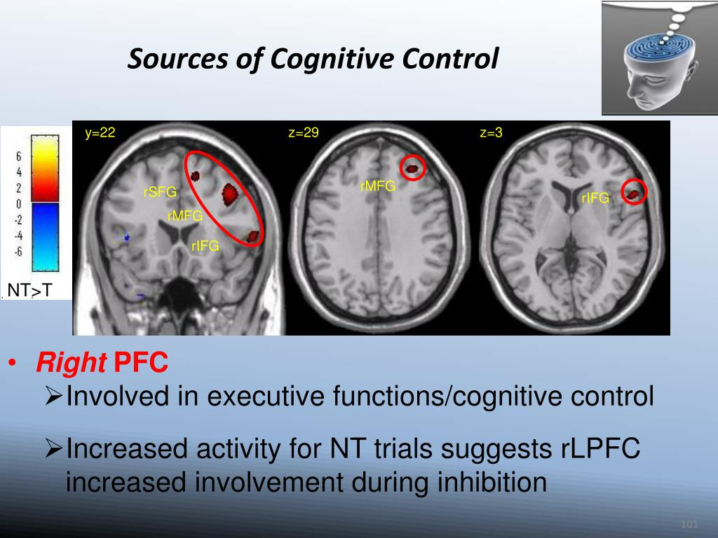 Sources of Cognitive Control
