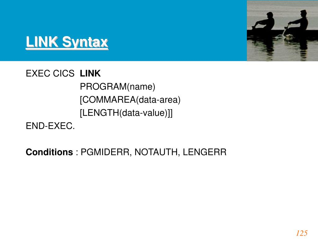 LINK Syntax