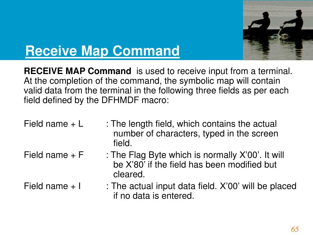 Receive Map Command