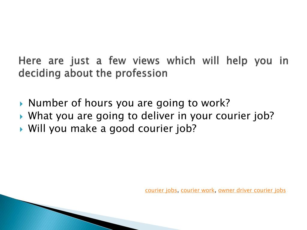 Here are just a few views which will help you in deciding about the profession