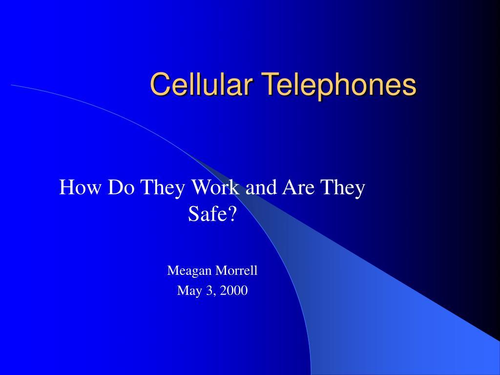 cellular telephones l.