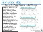 issue irs recordkeeping on cell phones