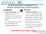 revise business procedures q 1 2 cellular devices policy and procedures