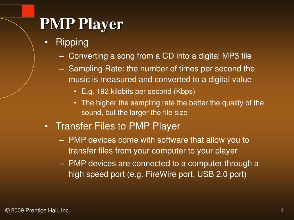 PMP Player