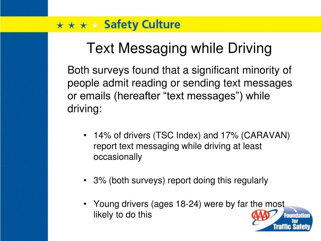 Text Messaging while Driving
