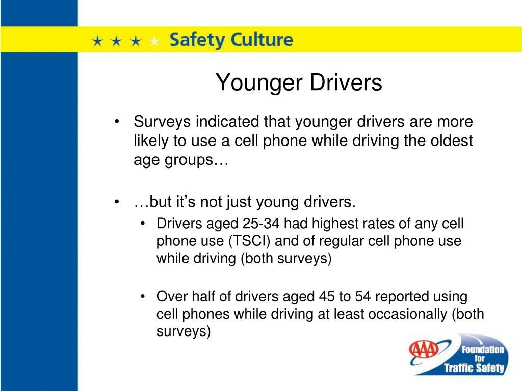 Younger Drivers
