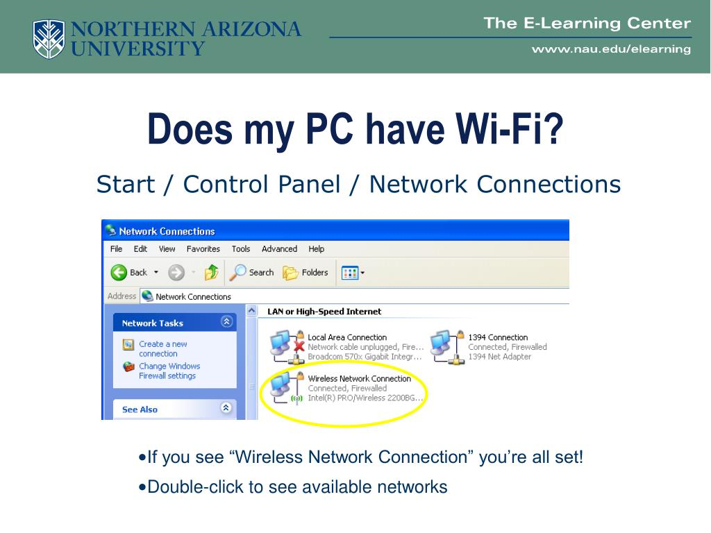 Does my PC have Wi-Fi?