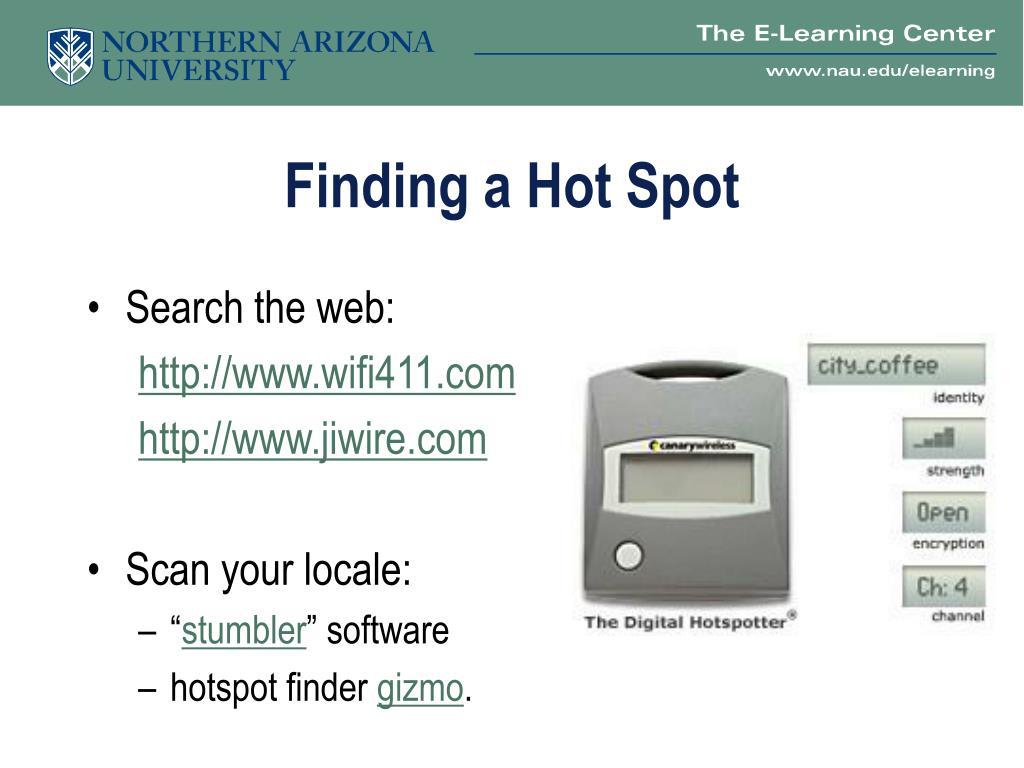 Finding a Hot Spot