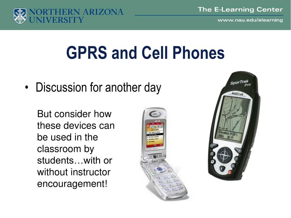 GPRS and Cell Phones