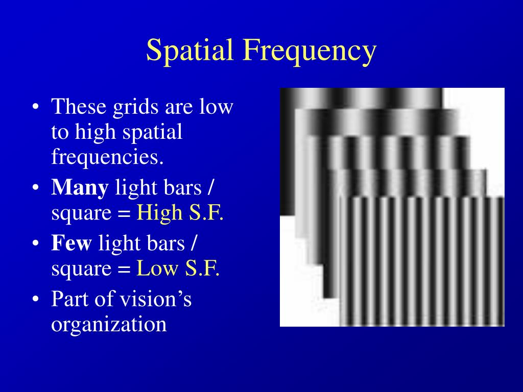 Spatial Frequency
