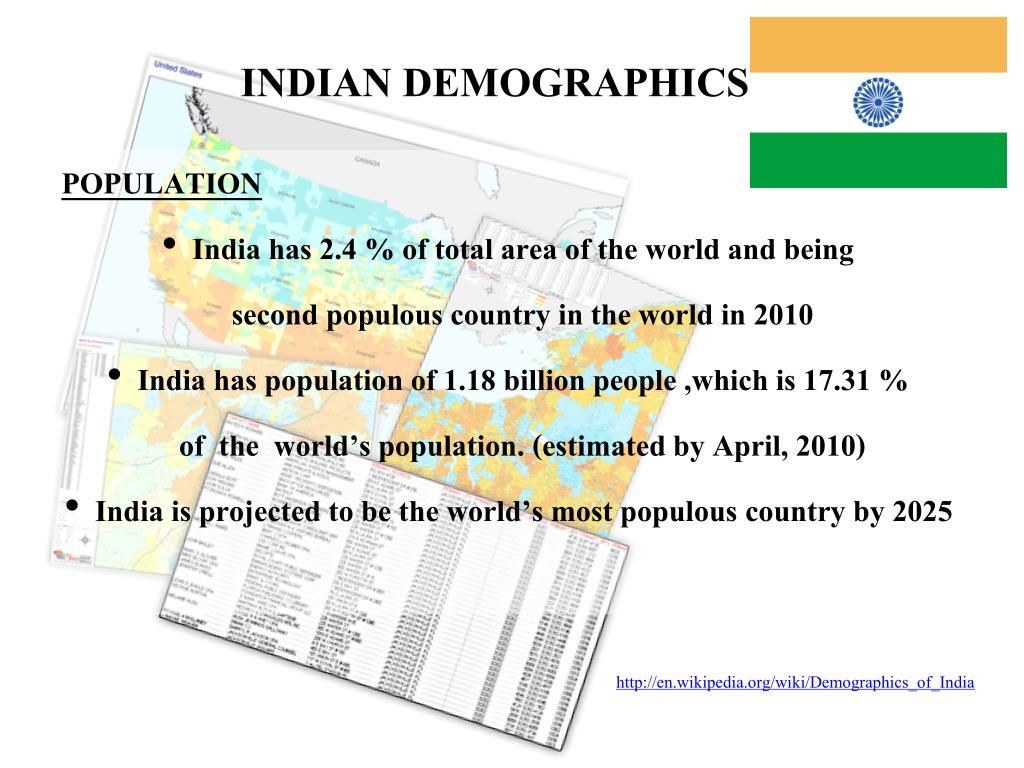 INDIAN DEMOGRAPHICS
