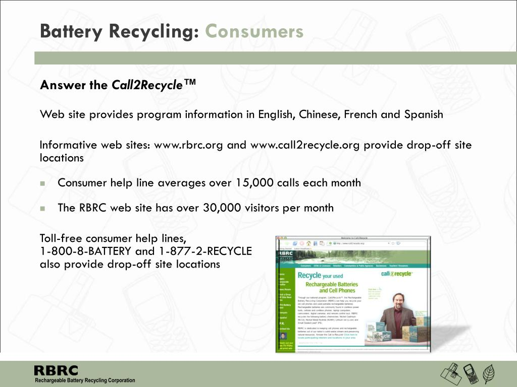 Battery Recycling: