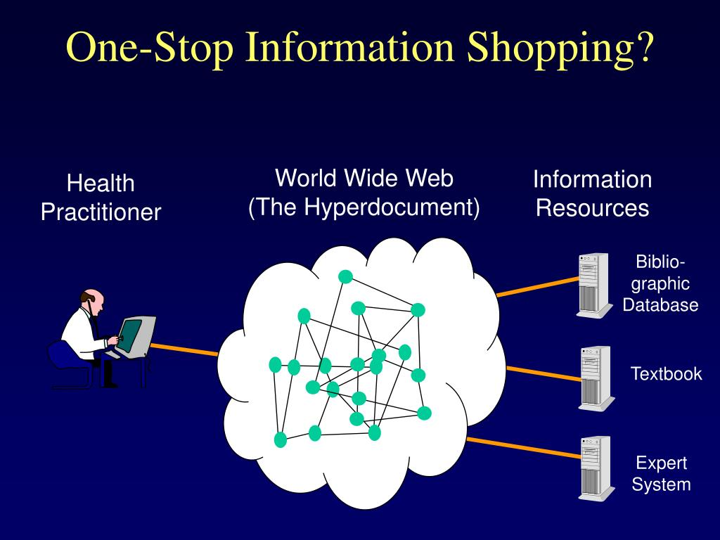One-Stop Information Shopping?