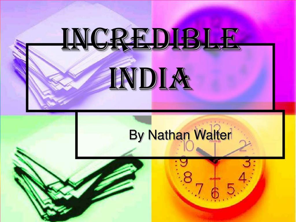 incredible india l.