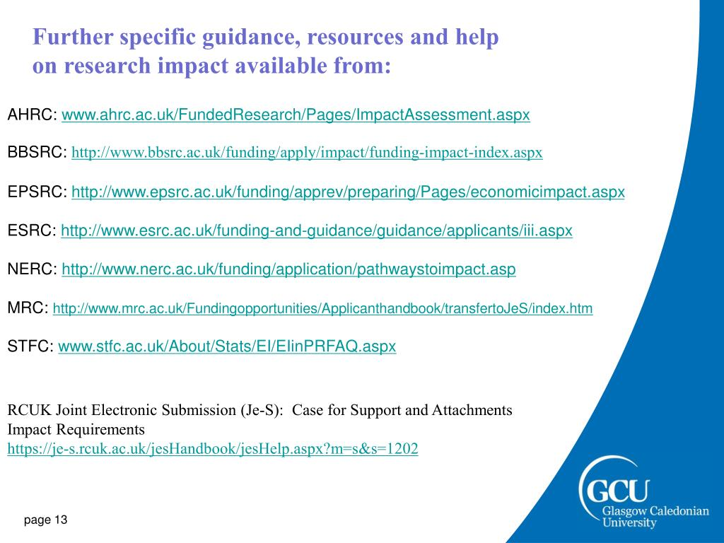Further specific guidance, resources and help