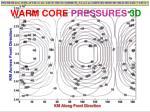 warm core pressures 3d3