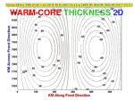 warm core thickness 2d