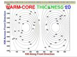 warm core thickness 2d2