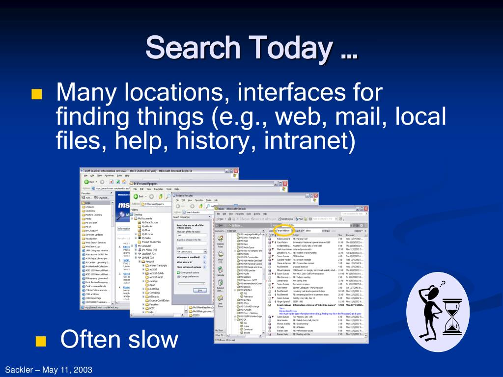 Search Today …