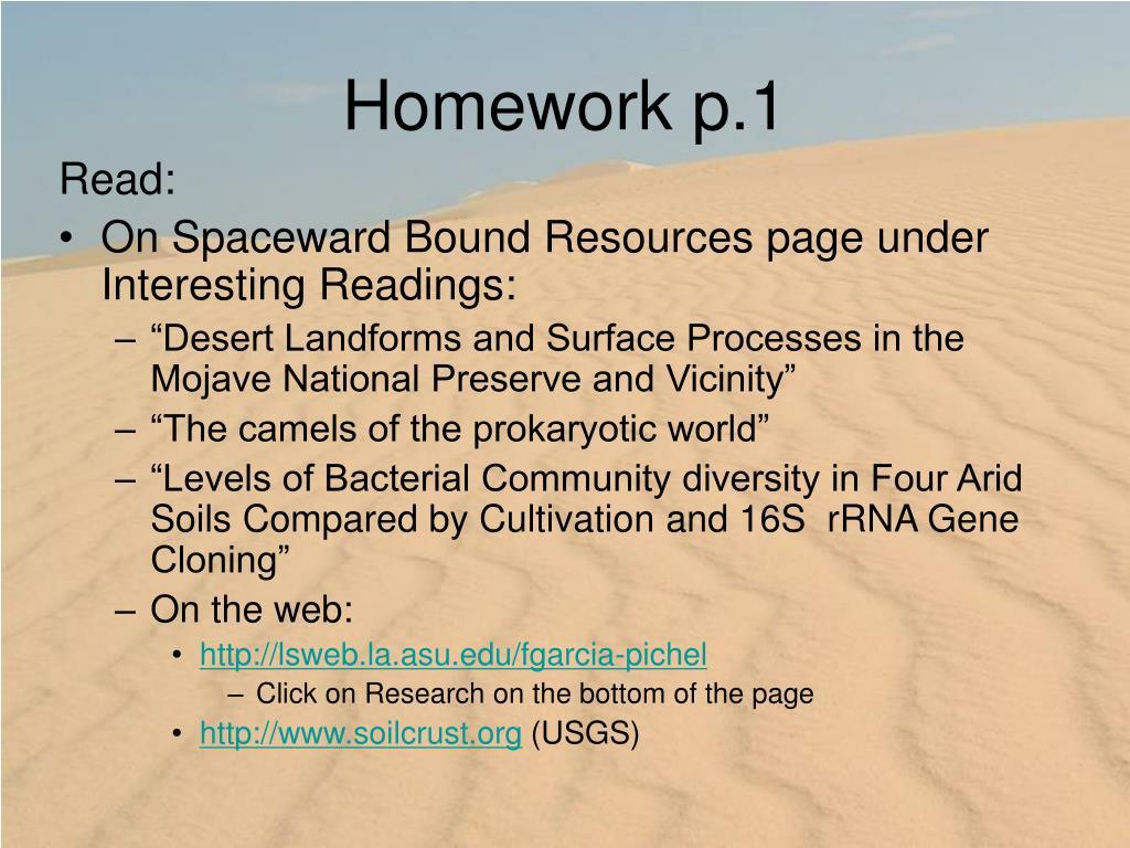 Homework p.1