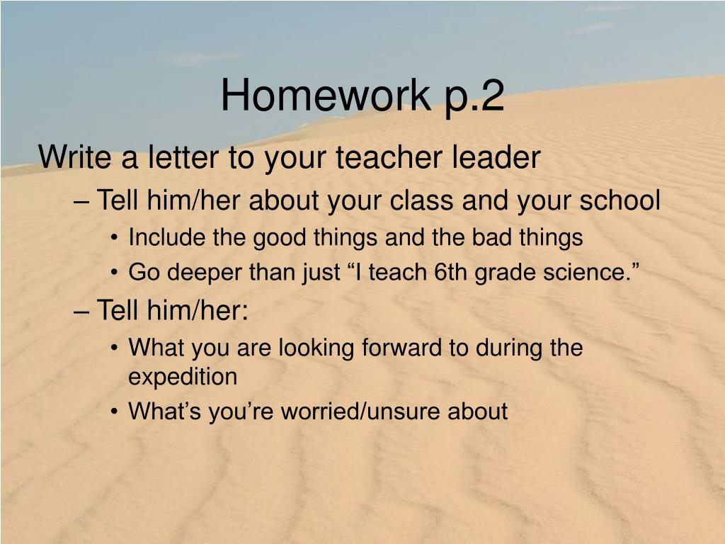 Homework p.2